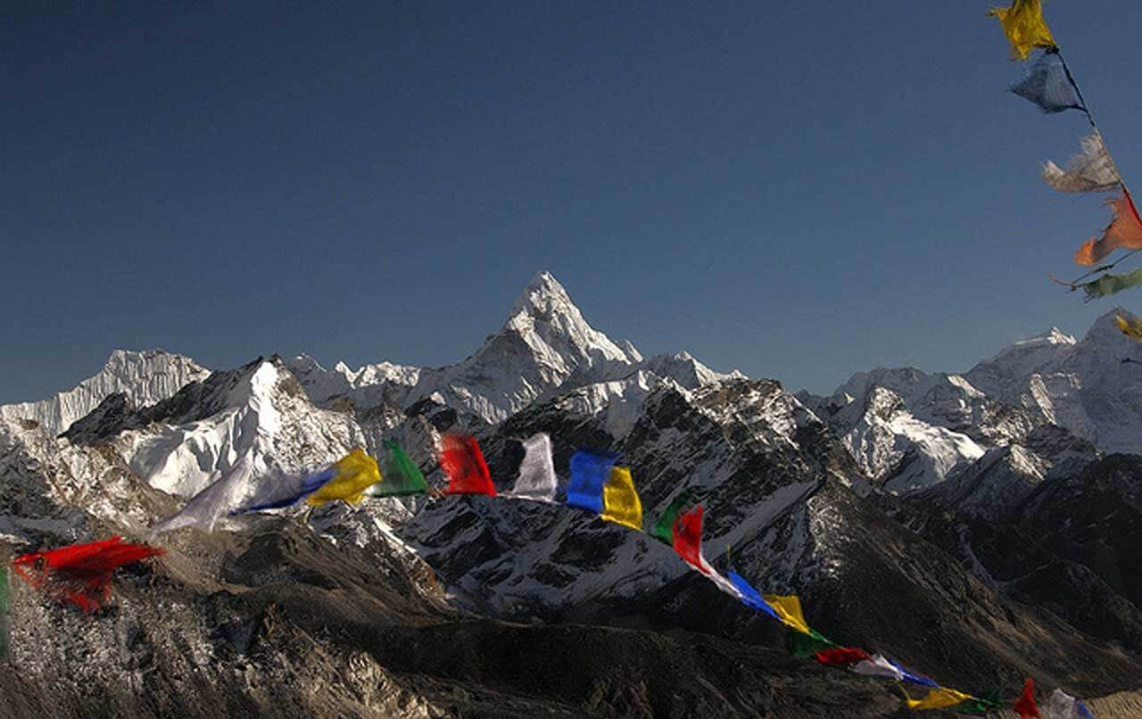 Amadablam from Kalapathar